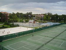 Recreational complex near Broward Hall.