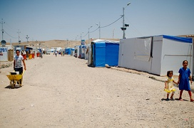 UNHCR Camp, Kurdistan (North-Iraq) June 2014