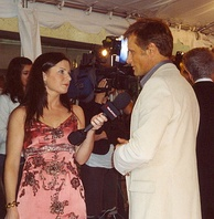 Interviewed by eTalk Daily at the 2005 Toronto International Film Festival, for A History of Violence