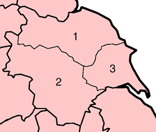 Yorkshire had three major subdivisions known as the ridings of Yorkshire: North RidingWest RidingEast Riding