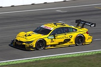 BMW M4 DTM of Timo Glock competing at Hockenheim in 2016