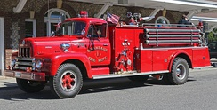 1961 International R-200 fire truck