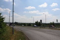 Quorn-Mountsorrel bypass north of Leicester