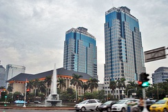 Bank Indonesia headquarters in Central Jakarta