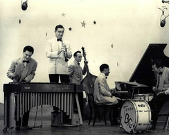 Benny Goodman and his band on the DuMont show Star Time, ca. 1950.