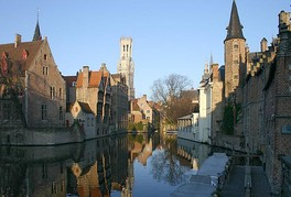 Bruges, historical city centre, UNESCO World Heritage Site