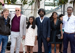 Director and stars of Palme d'Or winner Dheepan
