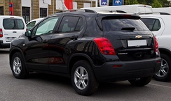 Chevrolet Trax LS+ (Germany; pre-facelift)