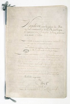 Constitution of the Year XII (First French Republic)