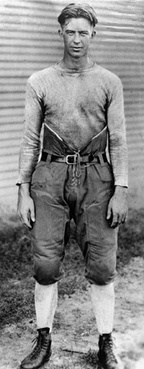 Texas A&M's E. King Gill during the 1921–1922 season