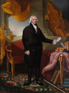 George Clinton, namesake of Clinton County. First Governor of New York, Vice President under Thomas Jefferson and James Madison, and representative of New York in the Continental Congress