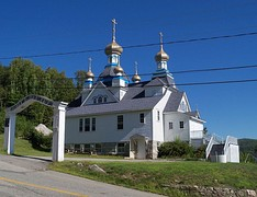 Holy Resurrection Orthodox Church (1915) in Berlin, New Hampshire, added in 1979.