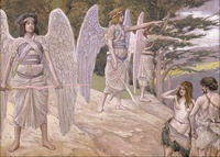 Adam and Eve Driven From Paradise by James Tissot, c. 1896-1902
