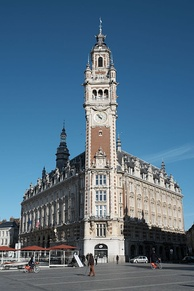 Lille chamber of commerce, belfry