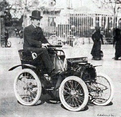 Louis Renault in 1903