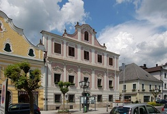 Town hall of Neufelden, Upper Austria, population ca. 1,300