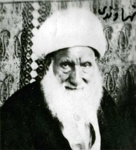 Iranian Shi'a cleric and author Sheikh Ali Akbar Nahavandi.