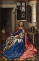 Створка диптиха Робера Кампена, поступившего в Эрмитаж из татищевского собрания (приписывался Ван Эйку)