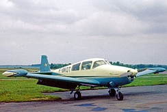 Navion G Rangemaster registered in France with modified fin and other enhancements