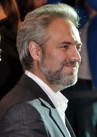 Director Sam Mendes at the film's premiere in Paris, October 2012