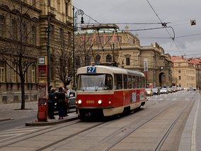The Tatra T3 vehicle is the most widely produced tram in history.