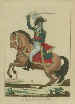 The leader of the Haitian revolution, Toussaint L'Ouverture, was a former house slave.