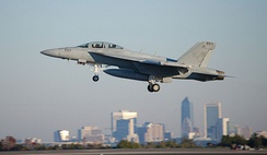 Boeing F/A-18E/F Super Hornet at Naval Air Station Jacksonville