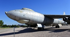 WB-47E, Hill Aerospace Museum