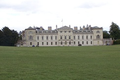 Woburn Abbey, an excellent example of English Palladianism, designed by Burlington's student Henry Flitcroft in 1746.