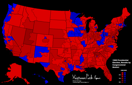 Results by congressional district