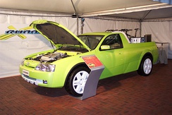 Toyota X-Runner concept utility as displayed at the 2003 Sydney International Motor Show