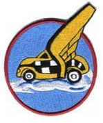 27th Troop Carrier Squadron Emblem (approved 25 February 1943)[1]