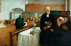A Scottish Sacrament, by Henry John Dobson