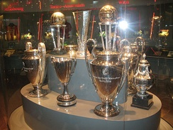 Several of Ajax' international trophies