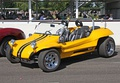 The Meyers Manx, a dune buggy, with VW rear engine