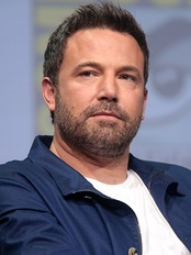 Ben Affleck at ComicCon 2017.