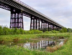Bennerley Viaduct (north East End)