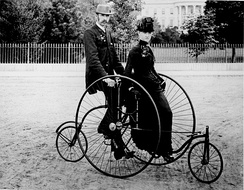 1885 Coventry Rotary Quadracycle in Washington DC[8]