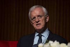 Kerrey at the LBJ Library in 2016
