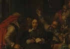 Charles I Insulted by Cromwell's Soldiers, 1836, thought lost in The Blitz, rediscovered in 2009