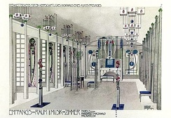 Charles Rennie Mackintosh – Music Room 1901