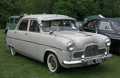 Ford Zephyr Six — October 1950