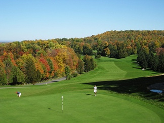 The golf course at Green Lakes State Park in upstate New York was designed by Robert Trent Jones and opened in 1936.