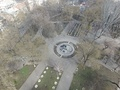 Memorial to the victims of the Holocaust, aerial photography