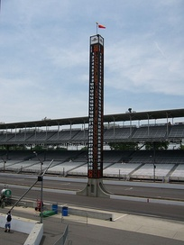 The Pylon at the Indianapolis Motor Speedway