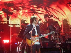 Jeff Lynne's ELO performing at Hyde Park, September 2014