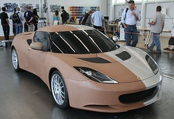 Lotus Evora clay model