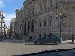 Oran's city hall, dating from the French period.