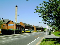 McVitie's factory on Stockport Road