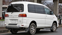 Mitsubishi Delica Space Gear Chamonix (Japan)